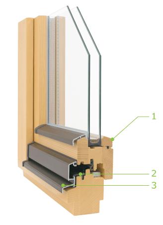 lesena okna prima 6.8